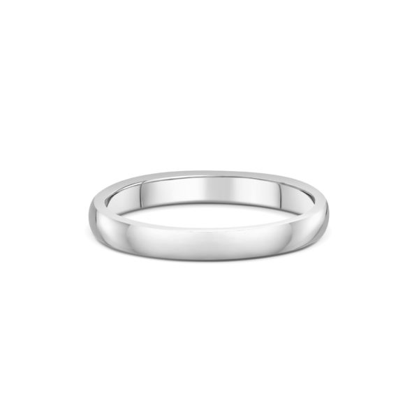 2mm Court Wedding Band