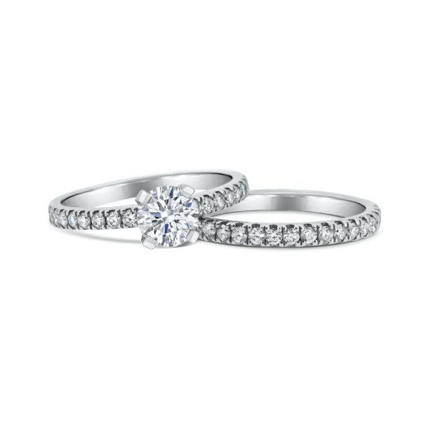 Adina Cushion Cut Diamond Microset Engagement Ring