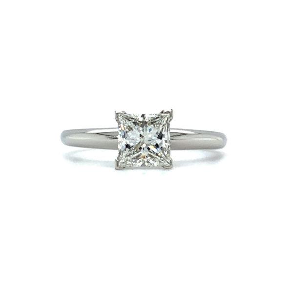 Cruz Princess Cut Diamond Solitaire Engagement Ring
