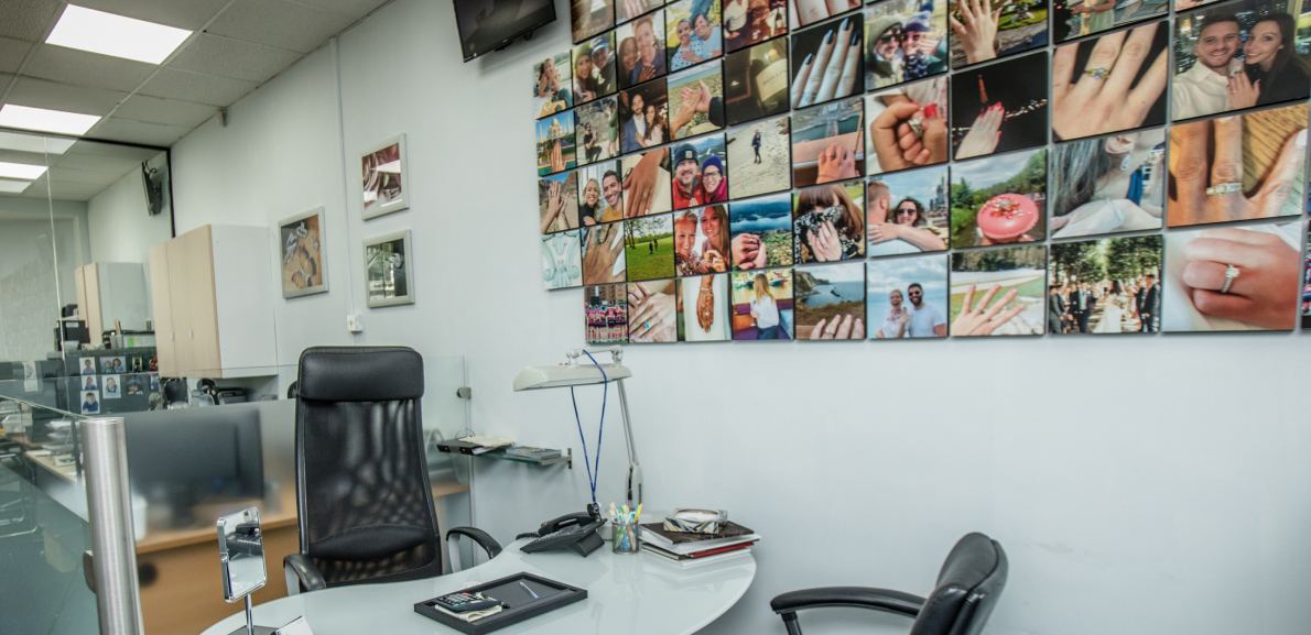 Showrooms header image