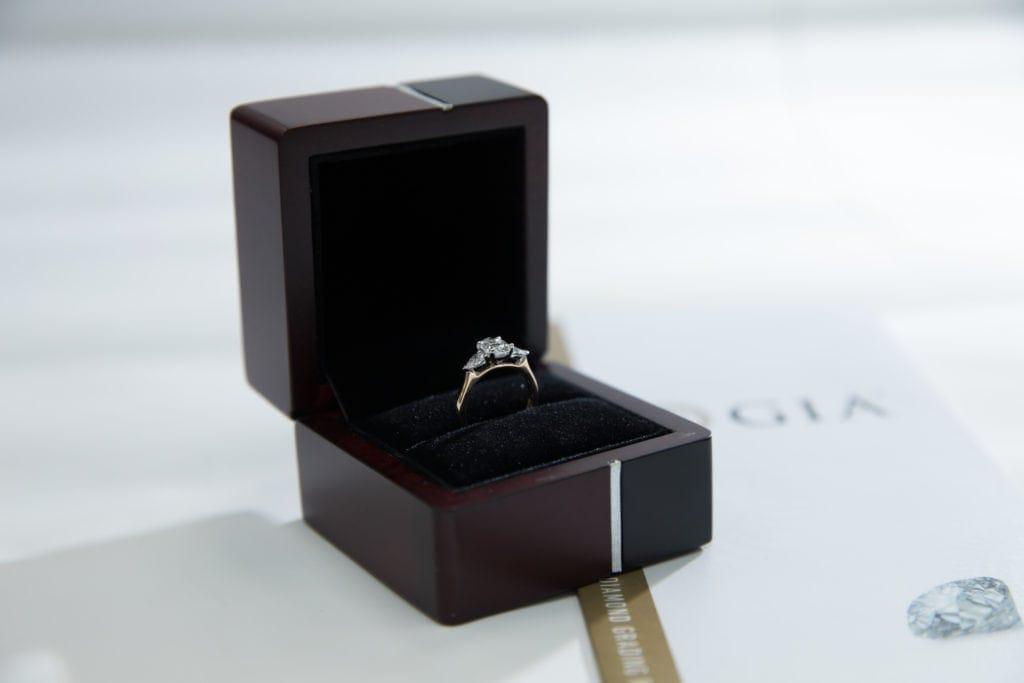 gia and elsa three stone ring
